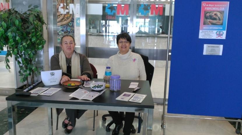 DCYDE en el Día Mundial de la fibromialgia