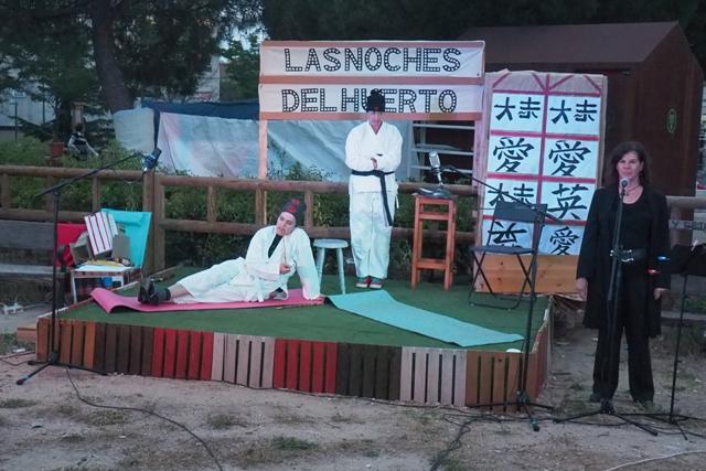 Teatro en Las Noches del Huerto