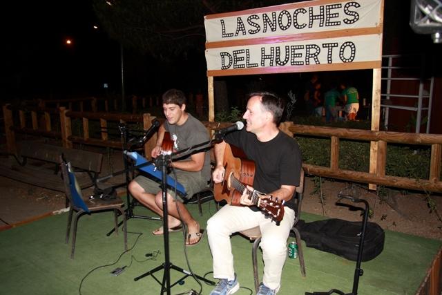 Noche de reencuentros en el huerto de Manoteras