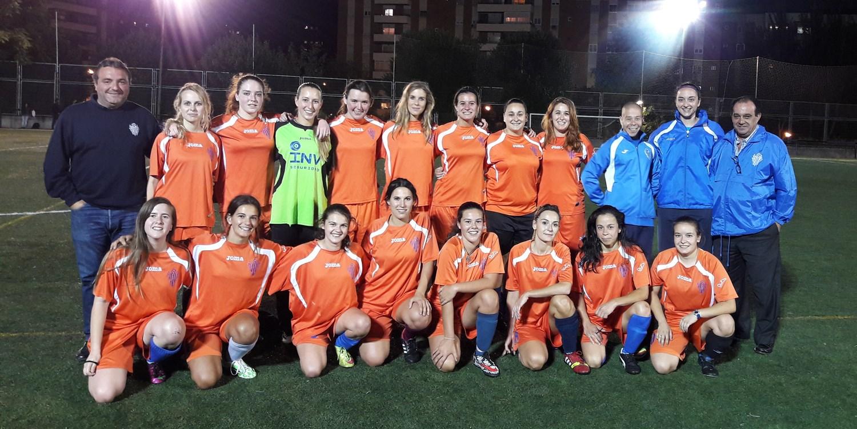 El Sporting estrena equipo femenino