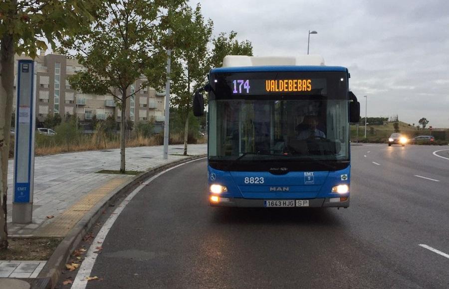 Una nueva línea de bus llega a Valdebebas