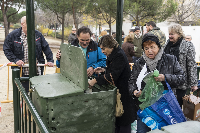 Hortaleza ya puede compostar
