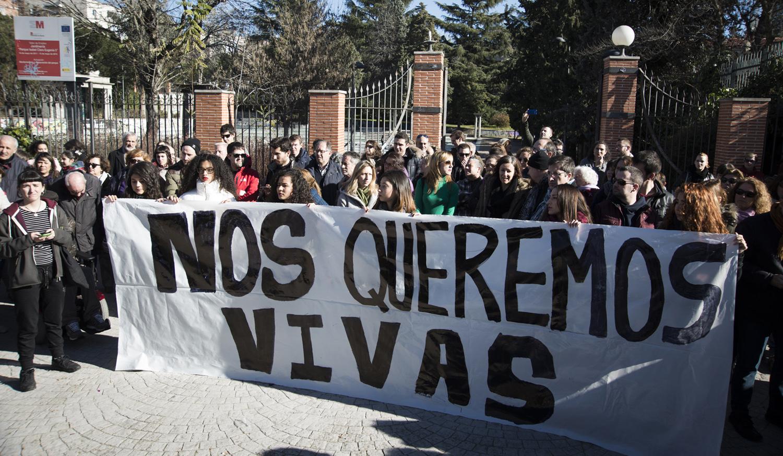 Hortaleza recuerda a las víctimas de la violencia machista