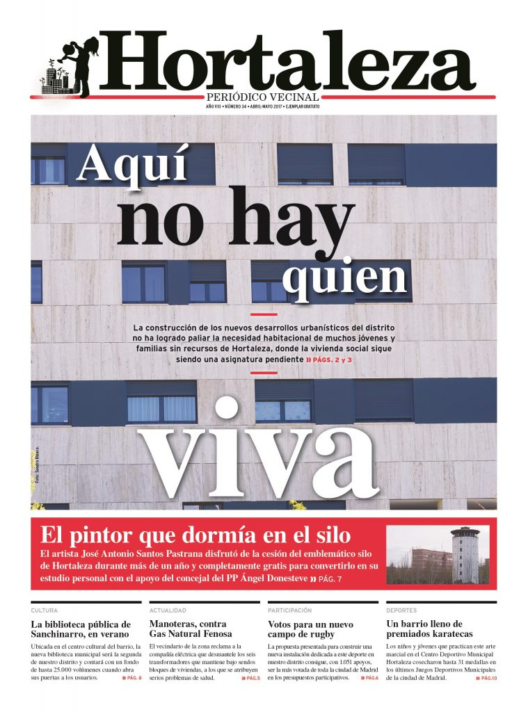 Nuevo número de Hortaleza Periódico Vecinal - Hortaleza