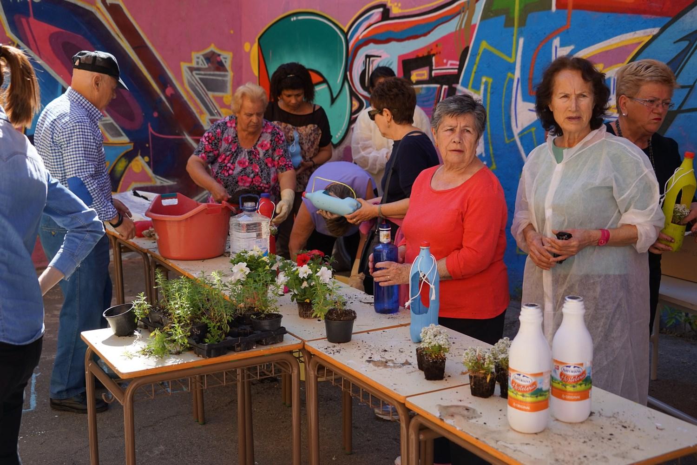 La 'Hortaleza verde' se suma a la Huelga por el Clima