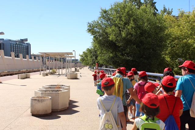 Se reduce la oferta de los campamentos de verano en Hortaleza