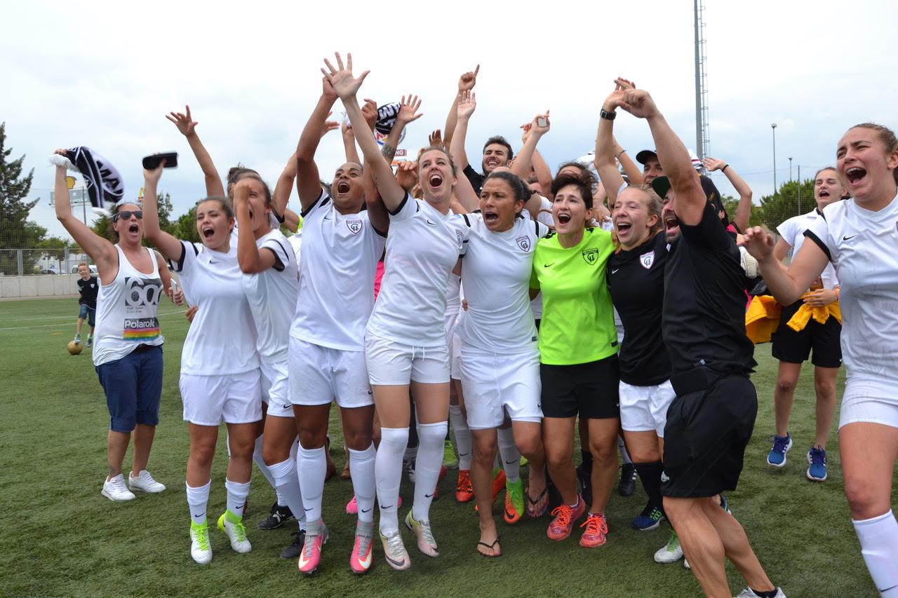 El fútbol femenino de Hortaleza es de primera