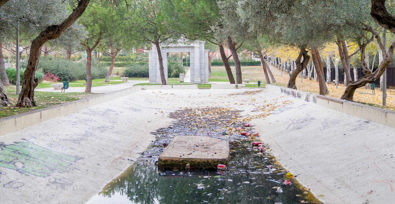 Los parques de Hortaleza, abandonados