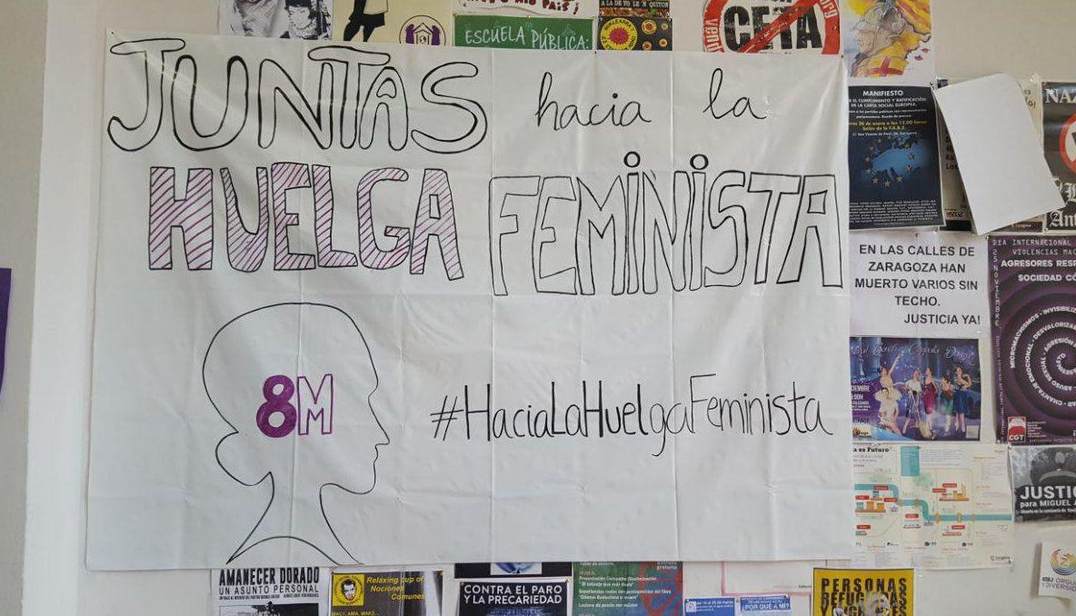 Hortaleza también se prepara para la Huelga Feminista: feminismo no sólo en las redes, también en las calles