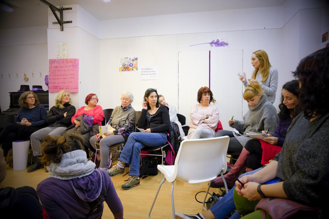 Las mujeres de Hortaleza preparan la huelga