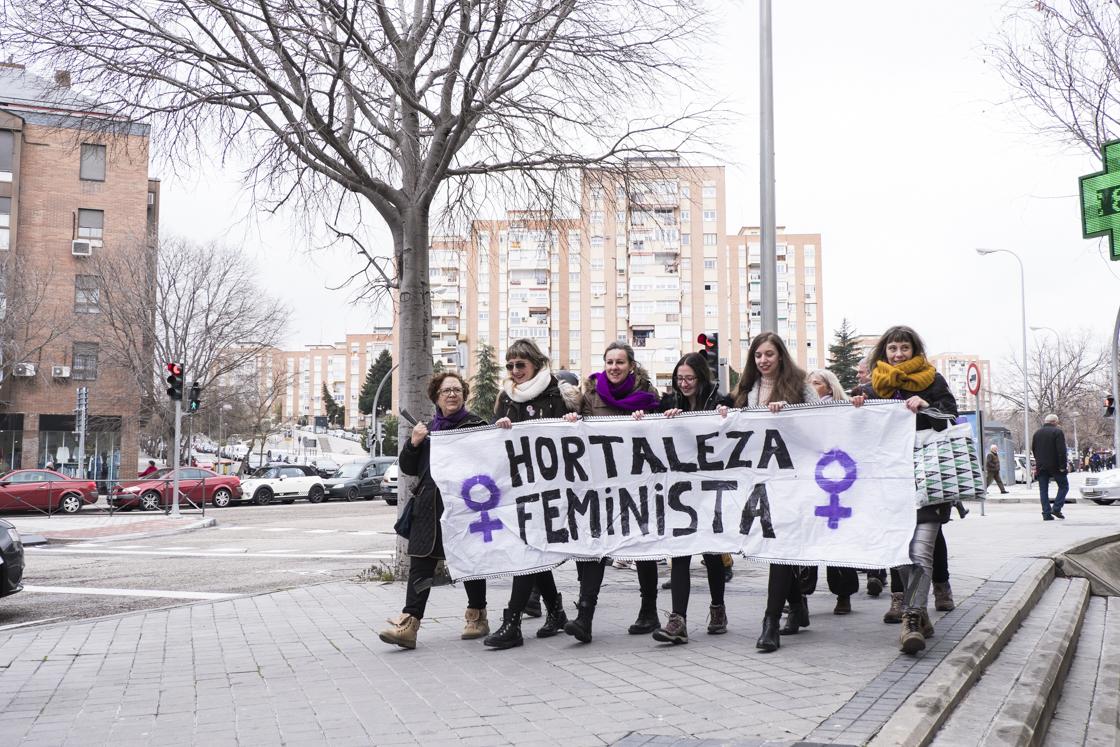 Galería: Así fue el histórico Día de la Mujer en Hortaleza