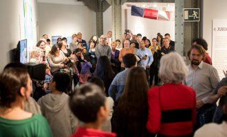 Una exposición en Cibeles comisariada por escolares del barrio