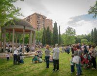 Música en el parque de Villa Rosa