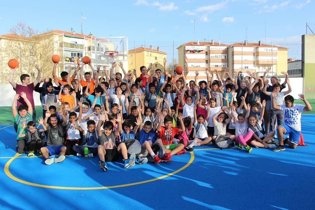 La fiesta del baloncesto y la convivencia