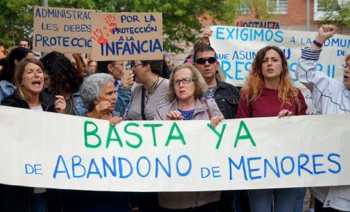 Hortaleza exige a la Comunidad de Madrid que tutele a los menores del centro de acogida