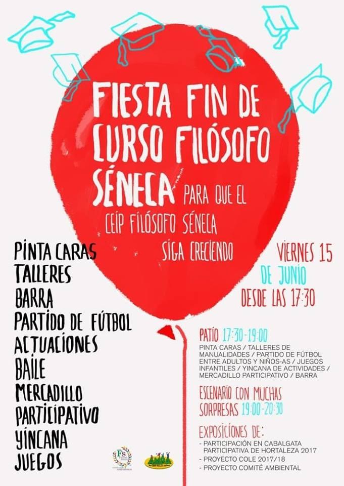 Fiesta De Fin De Curso Del Colegio Publico Filosofo Seneca