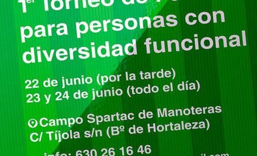 I Torneo Fútbolpara Todos en el campo del Spartac de Manoteras