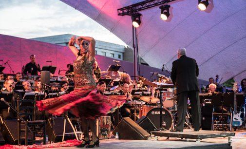 Una sinfonía flamenca en el verano de Hortaleza