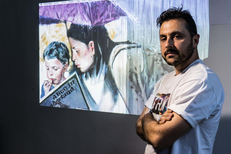 """""""Con el arte mural, encontré un medio de expresión y de trabajo"""""""