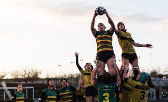 Las 'dragonas' del rugby siguen volando en la élite