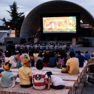 El cine de verano vuelve al auditorio de Hortaleza