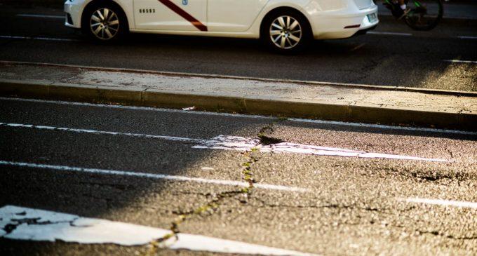 Operación asfalto para las principales calles de Hortaleza
