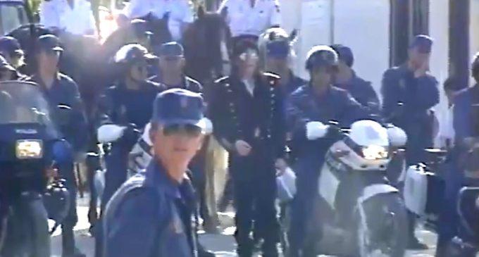 El día que Michael Jackson vino al barrio