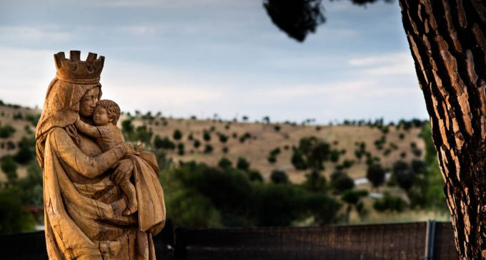 El Ayuntamiento no trasladará la Virgen del parque forestal de Valdebebas