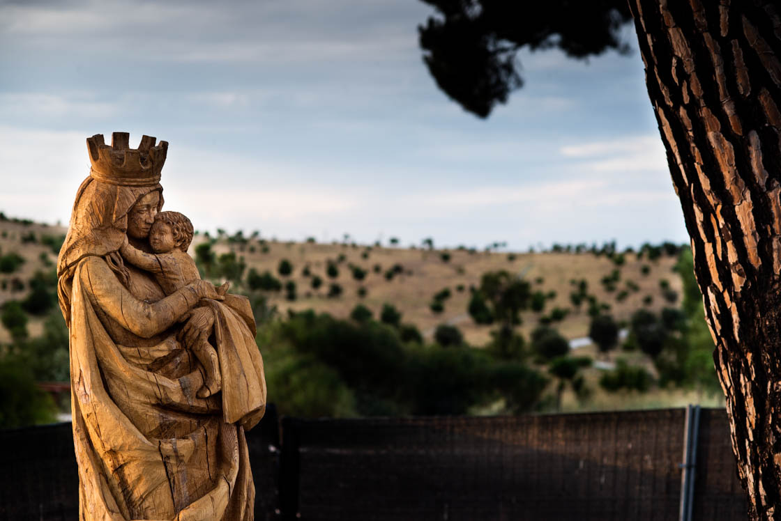 La Virgen de Valdebebas costó 40.000 euros