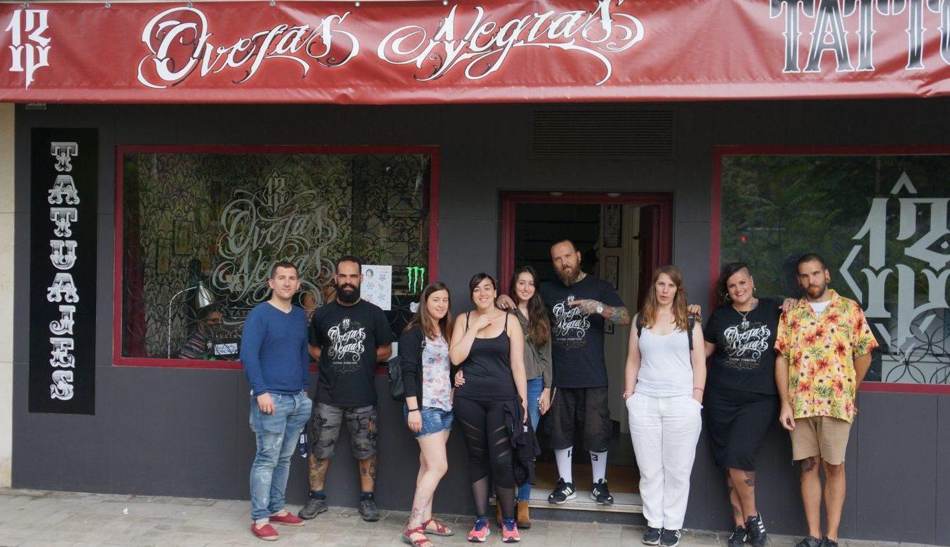 Vuelven los tatuajes solidarios de 13 Ovejas Negras