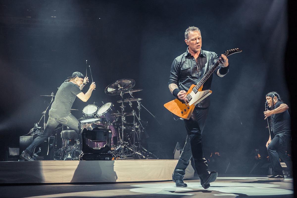 Metallica actuará en el distrito de Hortaleza