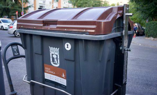 El cubo marrón llegará en octubre a todo el distrito
