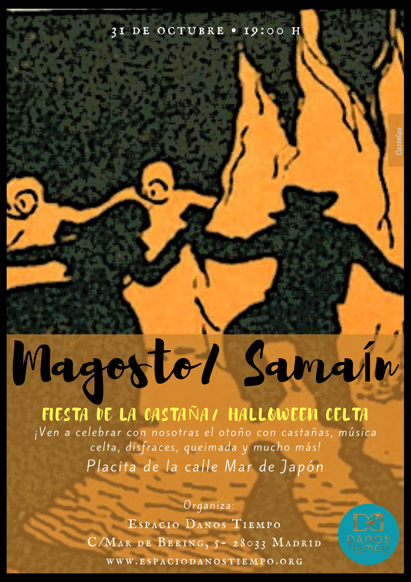 Magosto y Samaín en la plaza de Mar del Japón