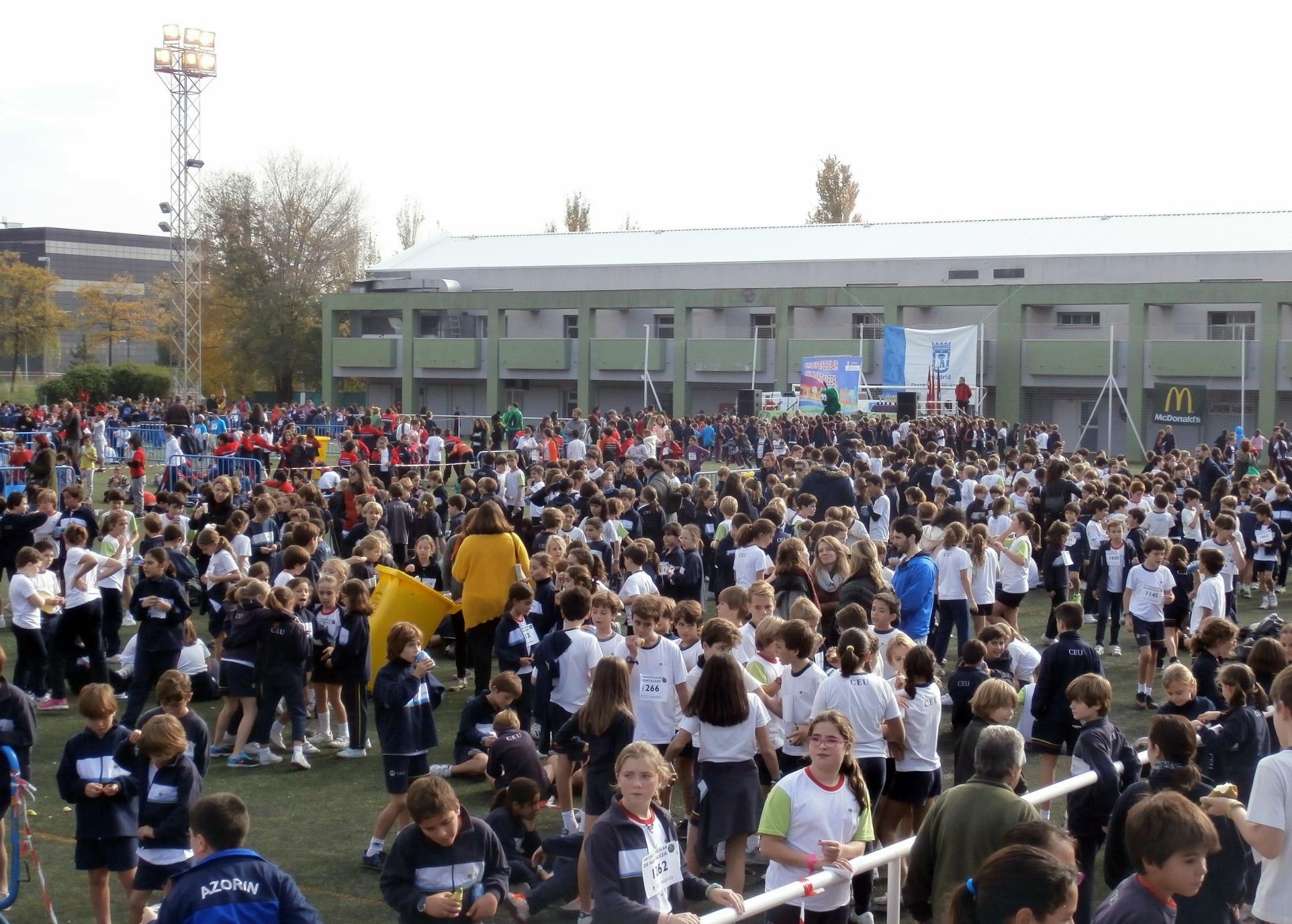 Nuevo éxito del Cross Escolar de Hortaleza