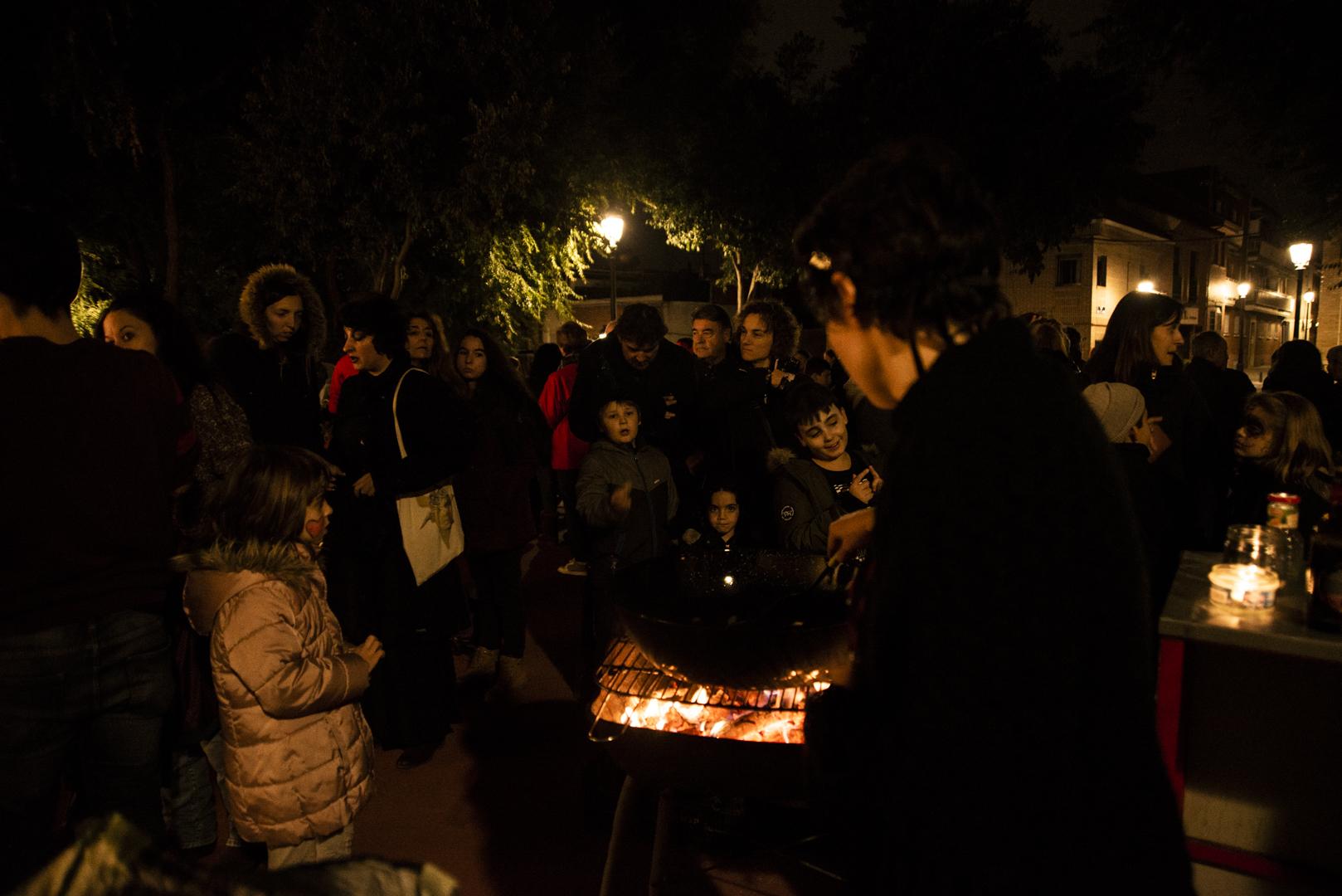 Fiesta de Magosto y Samaín en Hortaleza