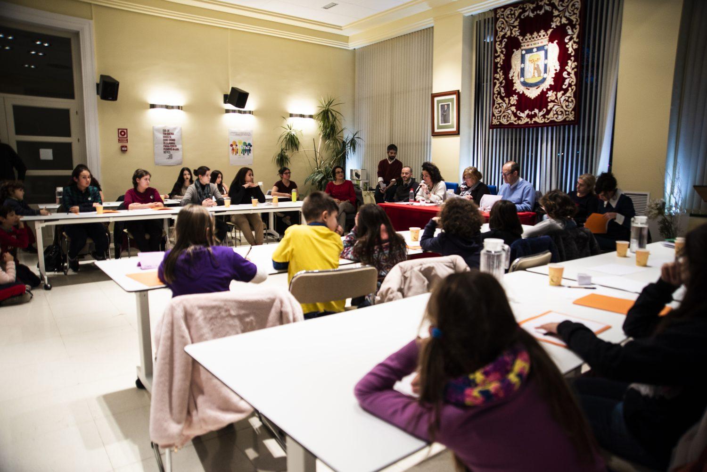 Primer Pleno de Infancia y Adolescencia de Hortaleza
