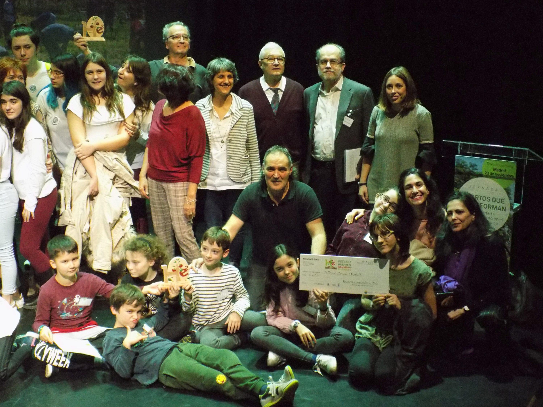 El Luis Cernuda, primer premio nacional de huertos educativos ecológicos