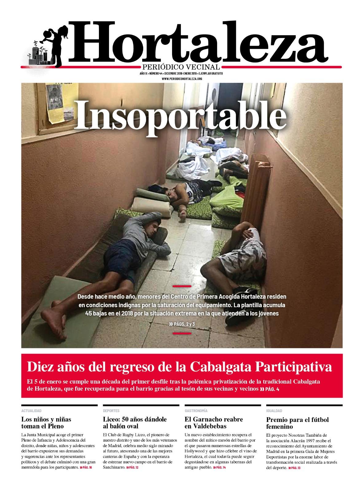 Hortaleza Periódico Vecinal, nº 44