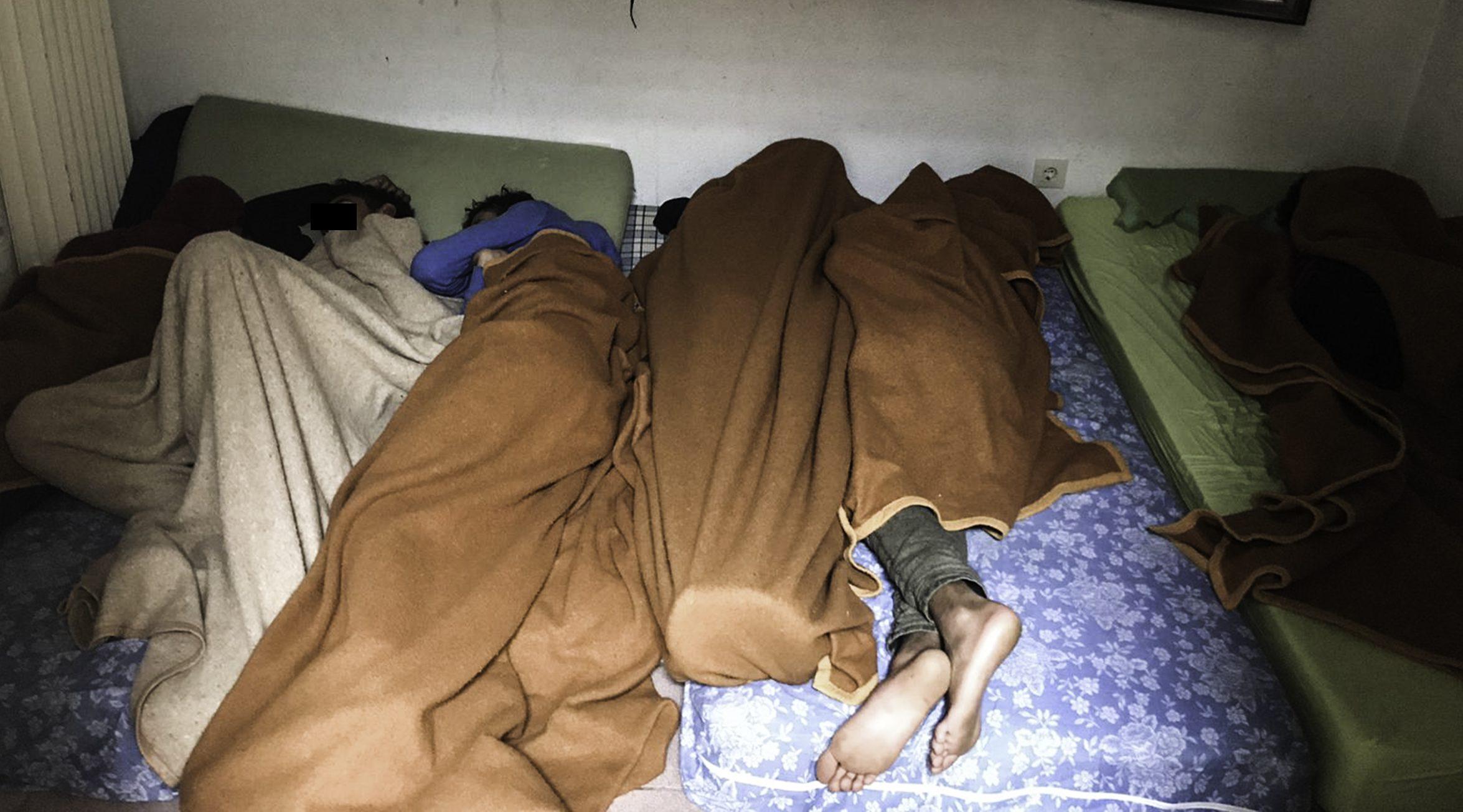 El Centro de Primera Acogida de Menores de Hortaleza se encuentra en una situación límite