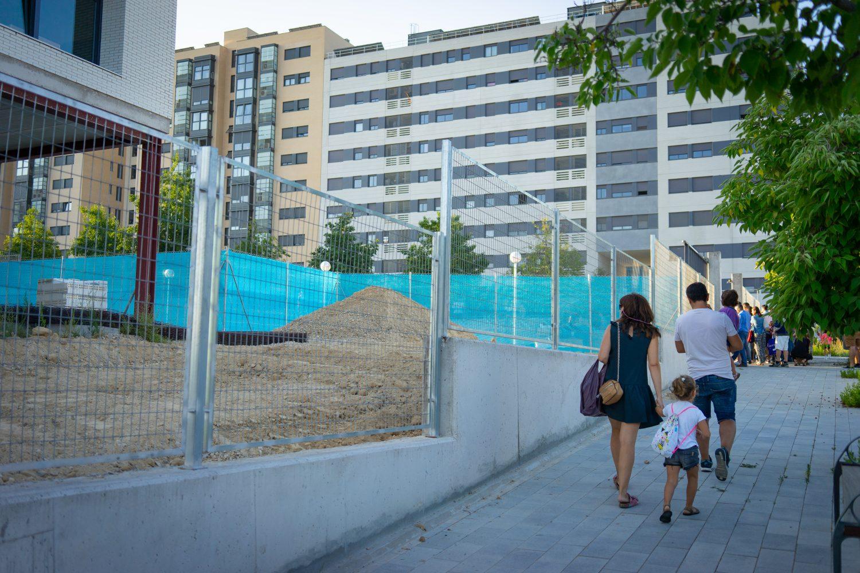 La Comunidad de Madrid pide suelo público para un colegio concertado en Valdebebas