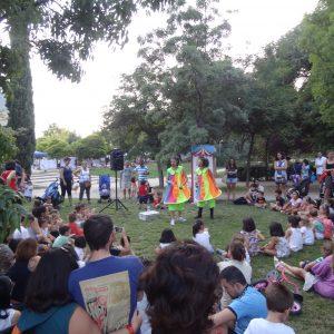 Vuelven las actividades infantiles a los parques de Hortaleza