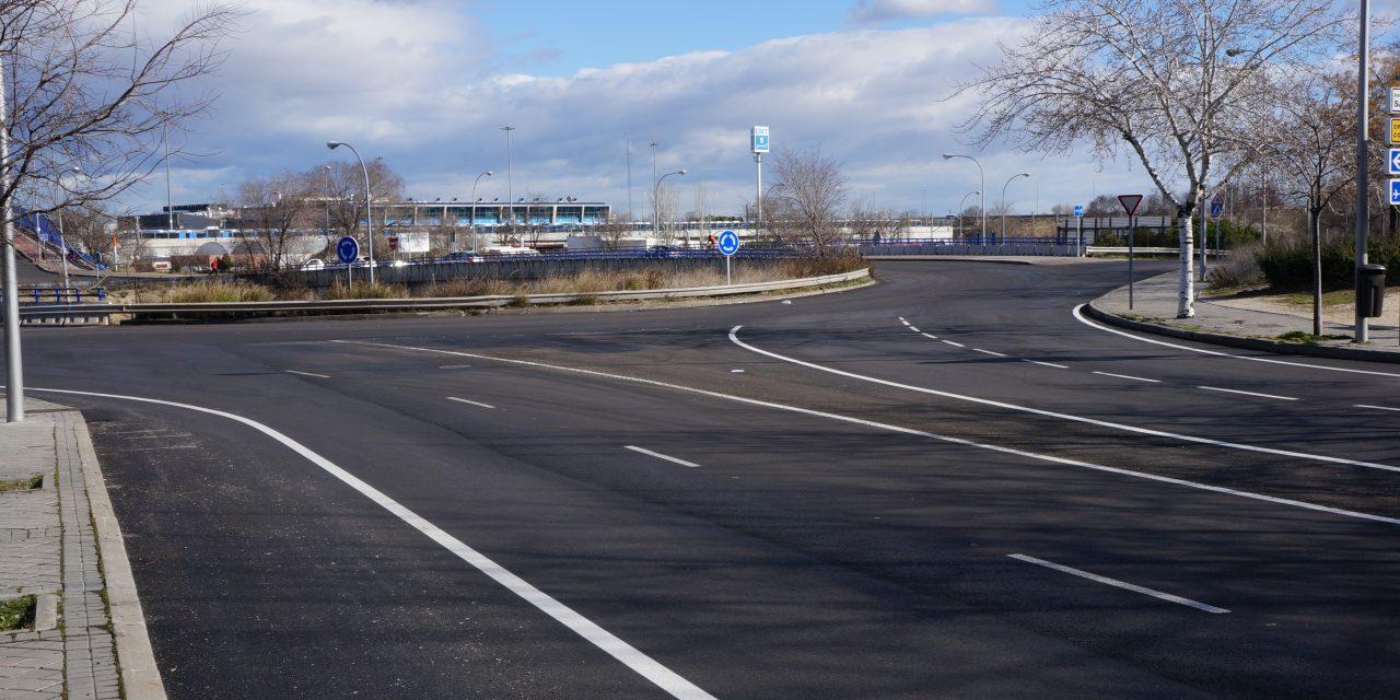 La 'operación asfalto' de verano sigue en invierno