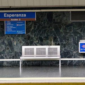 La estación de Esperanza cerrará para eliminar su amianto