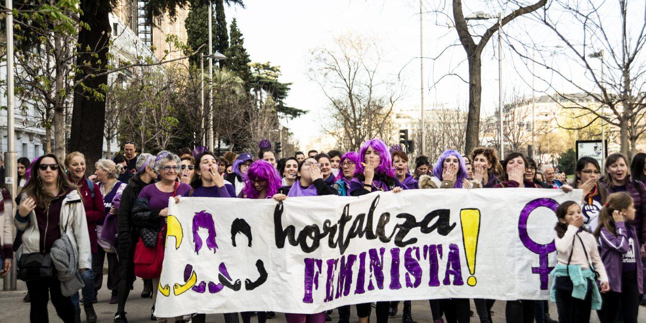 Una semana después de la huelga feminista en Hortaleza