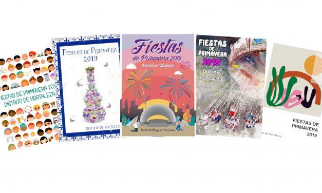 ¿Qué cartel te gusta para las Fiestas de Hortaleza?