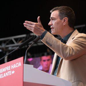 Pedro Sánchez cerrará la campaña del PSOE en Hortaleza