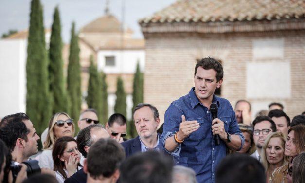 Albert Rivera también elige Hortaleza para cerrar campaña