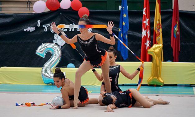 Hortaleza estrena campeonato de gimnasia rítmica