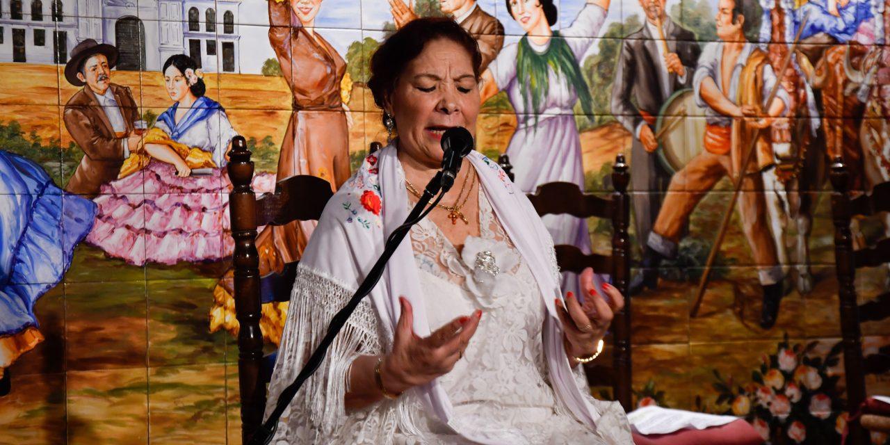 Carmen Jiménez Vargas, arte y gitanería pura
