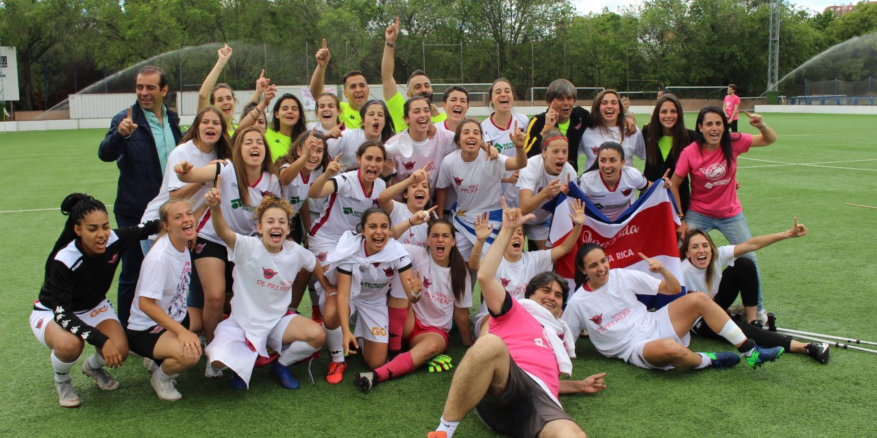 El Real Madrid absorbe a las chicas del CD Tacón